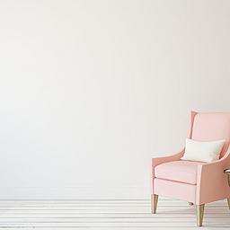 简约纯色室内家居背景图