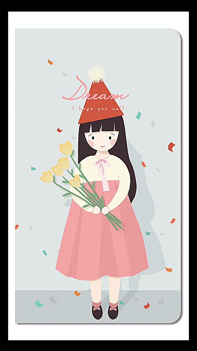 搜图中国提供独家原创粉色手捧花朵手机壳背景素材下载,此素材图片已图片