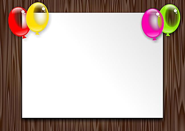 木材边框文字框签名墙背景墙图片背景素材免费下载