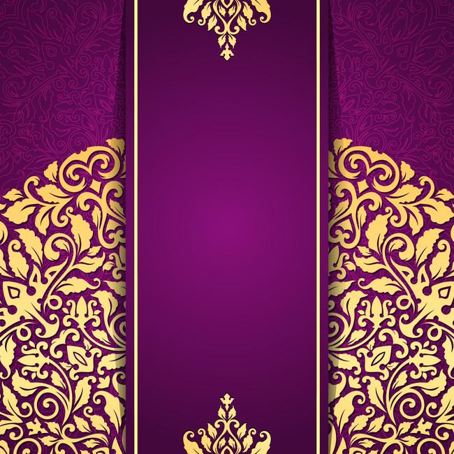 搜图中国提供独家原创紫色欧式花纹背景素材下载,此素材图片已被下载3