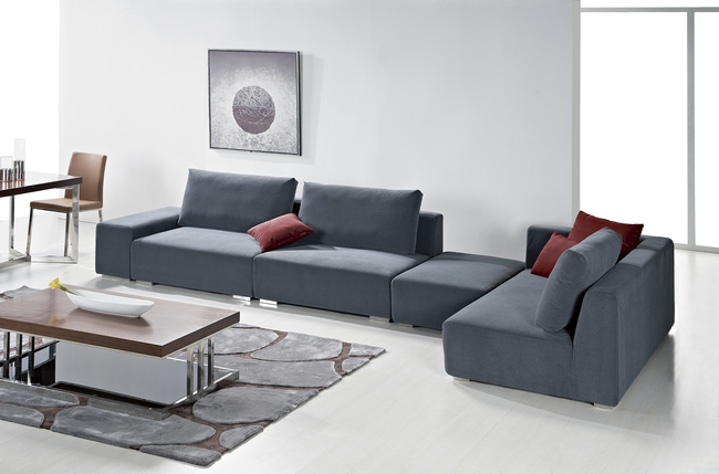 简约时尚风格室内沙发海报背景素材