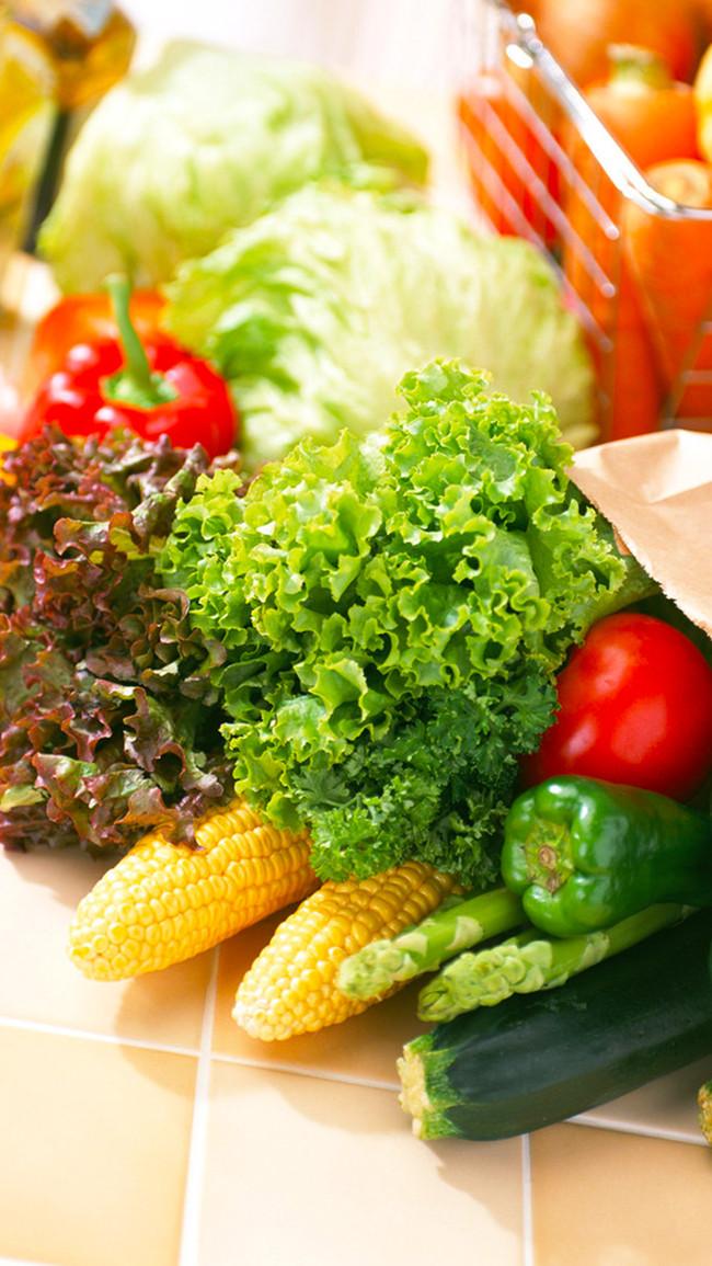 素食主义 蔬菜 小清新 素食 蔬菜素材 美食 小清新素材 h5背景素材