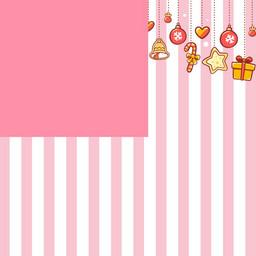 粉色简约主图背景