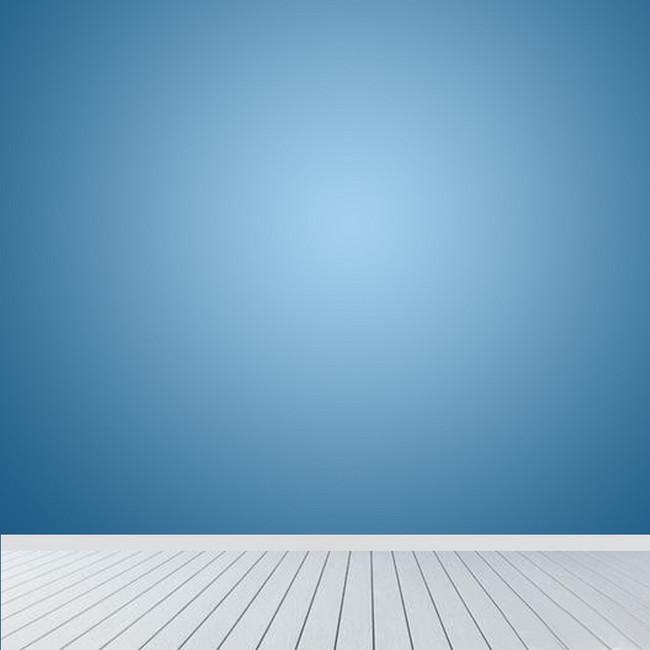 蓝色清新简约主图背景