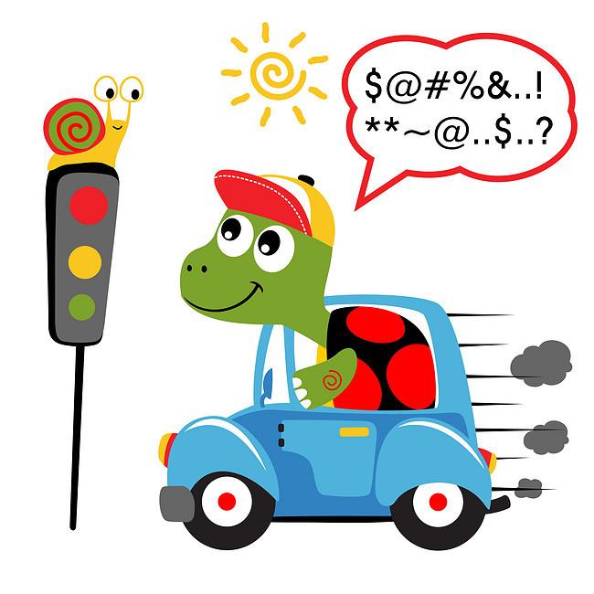 > 小乌龟过红绿灯可爱图  小乌龟过红绿灯可爱图 壁画 飞机 绘画 卡通