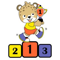 可爱小熊获奖儿童绘画图集