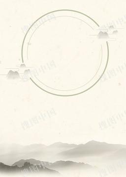 中国风山水清明时节背景