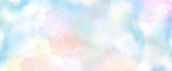 夢幻水彩紋理