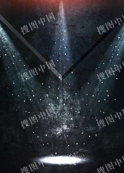 灯光舞台海报背景