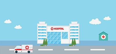 國際護士節醫療醫院背景