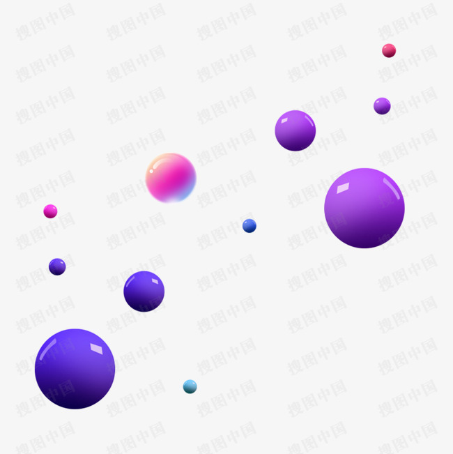 彩色迷彩立体彩球装饰