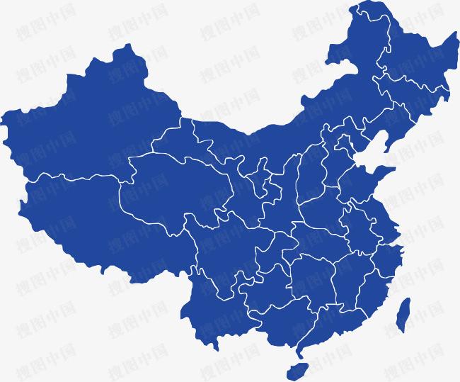 中国地图图片免抠png素材免费下载,图片编号4579329