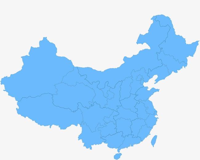 中国地图图片免抠png素材免费下载,图片编号1031286