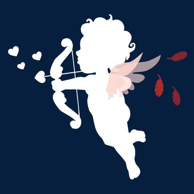 爱神 七夕节 情人节 节日元素 节日 爱心 爱心图案 人物 丘比特之箭