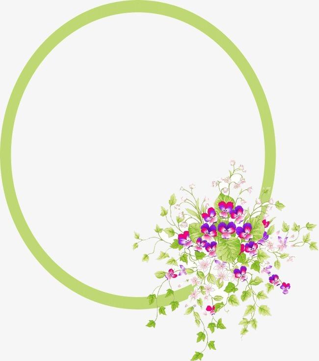 搜图中国提供独家原创绿色边框花朵下载,此素材图片已被下载10次,被