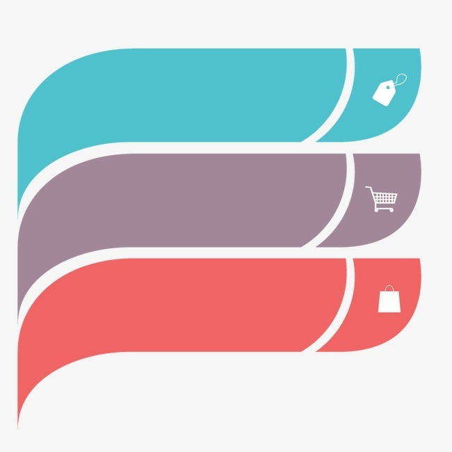 3色ppt信息标题框图片免抠png素材免费下载,图片编号