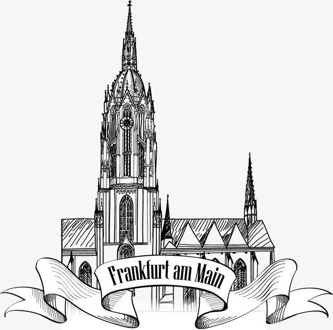 搜图中国提供独家原创德国欧式建筑线稿下载,此素材图片已被下载95次