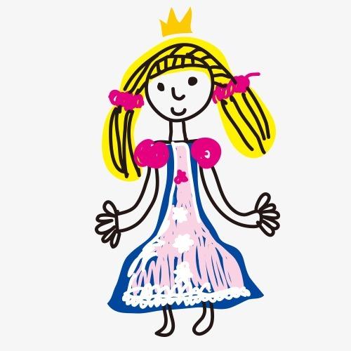 搜图中国提供独家原创女孩儿童画卡通涂鸦下载,此素材图片已被下载6次