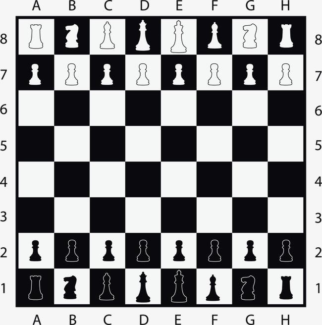 搜图中国提供独家原创矢量国际象棋棋局下载,此素材图片已被下载5次