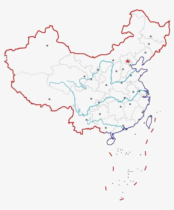 中国地图图片免抠png素材免费下载,图片编号2342564