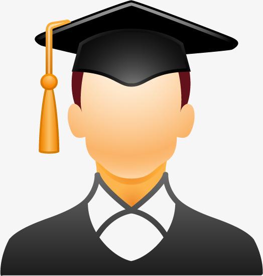 搜图中国 元素 >男头像  学士帽子  博士帽   卡通  手绘  图标 ui