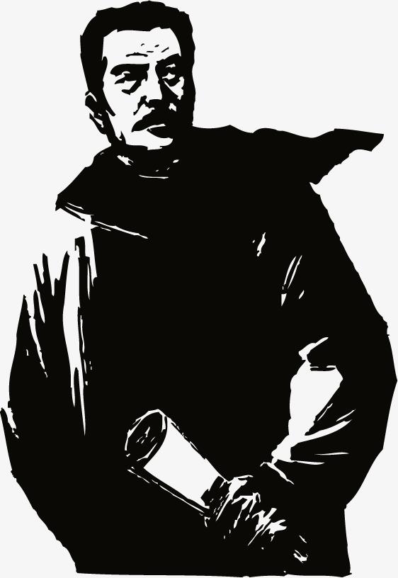 搜图中国提供独家原创鲁迅黑色版画下载,此素材图片已被下载31次,被收