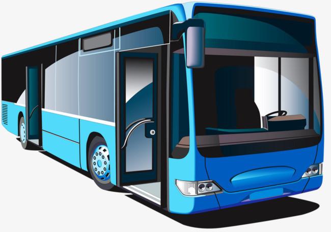 搜图中国 元素 >蓝色公交车  公交车  手绘 卡通 可爱 【本作品下载图片