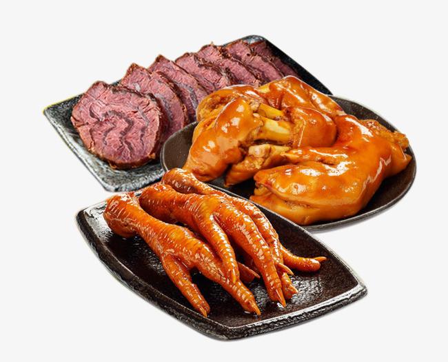 熏鸡翅中 肉厚浓香 东北卤味熟食 产品实物 免费png素材 png图片素材图片