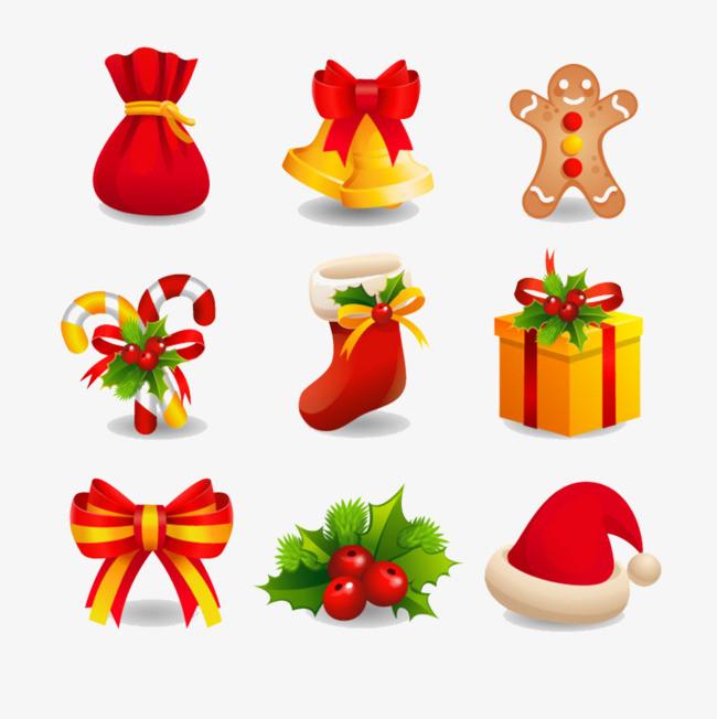 搜图中国提供独家原创一堆圣诞小礼品图片素材下载,此素材图片已被