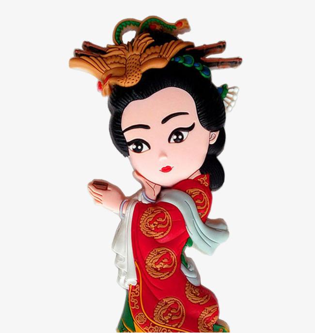 搜图中国提供独家原创中国风卡通戏曲人物杨贵妃下载,此素材图片已被图片