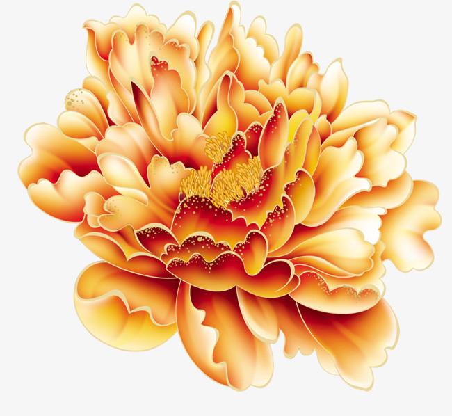 搜图中国 元素 >牡丹花矢量图  手绘牡丹 国花牡丹花 牡丹花免费png