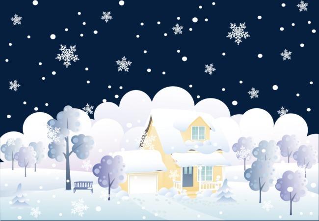 矢量北极雪 矢量北极雪素材 北极雪素材 冬天 冬天 冬天雪景 冬天北