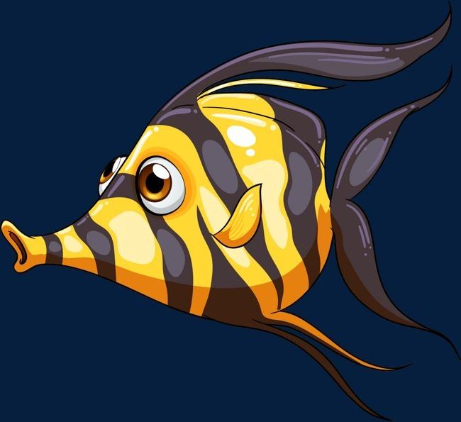 搜图中国提供独家原创卡通海洋鱼类矢量图下载,此素材图片已被下载2次