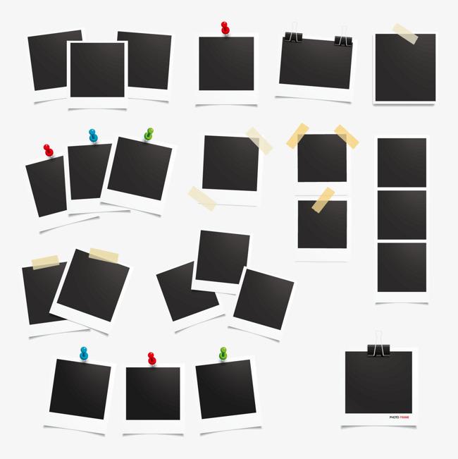 拍立得相纸矢量图片免抠png素材免费下载,图片编号_,.