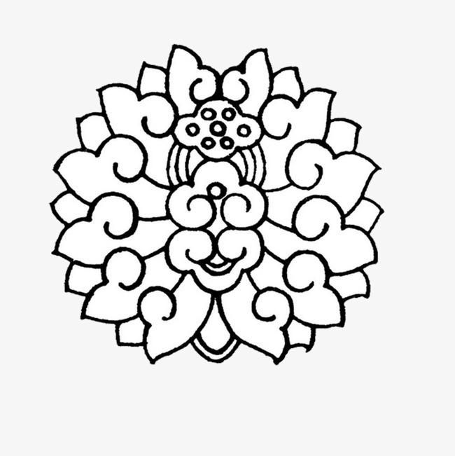 搜图中国提供独家原创黑白佛教花纹下载,此素材图片已被下载7次,被