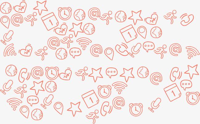 搜图中国 元素 >矢量手绘卡通背景  矢量 手绘 卡通 背景 简笔画 【本
