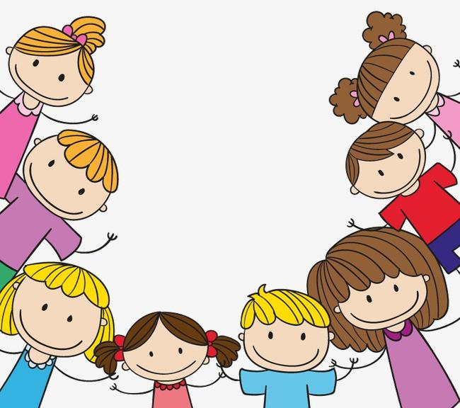 元素 >卡通儿童边框背景矢量素材  人物,儿童,孩子,框架,边框,六一