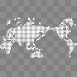 科技商务世界地图背景