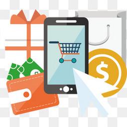 扁平电商行业在线购物流程说明