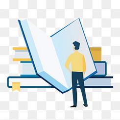 創意知識改變一切企業文化插畫設計