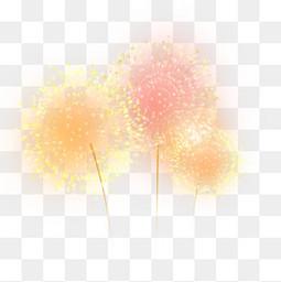 红色烟花爆竹彩色礼花元素