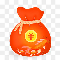 春节节日过年红包锦鲤电商