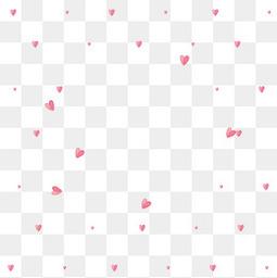 情人节粉色心形背景装饰