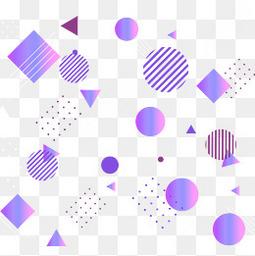 幾何線條科技漸變裝飾矢量