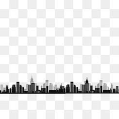 黑色双层都市建筑