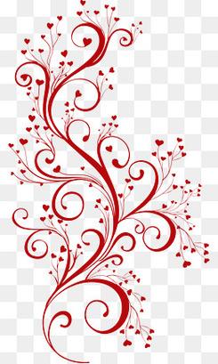 花纹素材几何花纹  卡通手绘花纹藤蔓