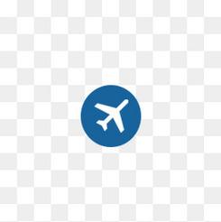 空气平面机场飞机点图标
