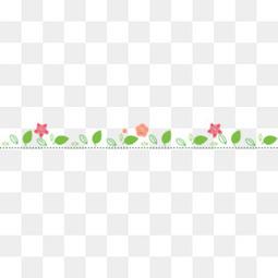 绿色叶子虚线边框