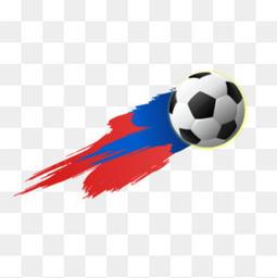 盘旋的足球
