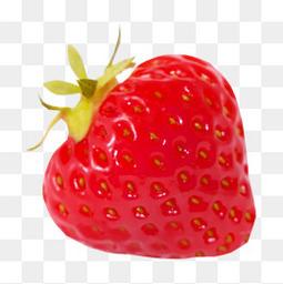 红色草莓水果装饰图案
